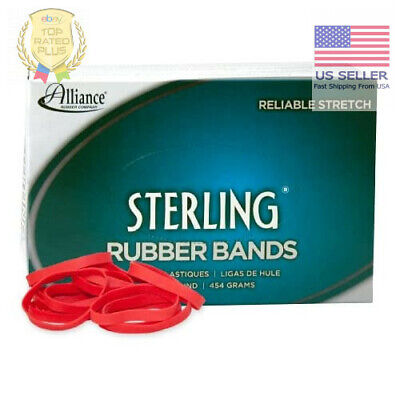 Alliance Rubber 94645 Sterling Rubber Bands Size 64 1 Lb Box Contains Approx.