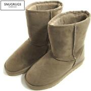 Ladies Sheepskin Boots Size 7