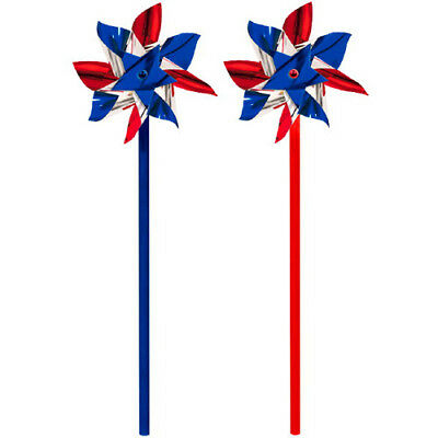 4th of JULY PINWHEELS (6) ~ Birthday Party Supplies Favors Toys Red White Blue (4th Of July Party Favors)
