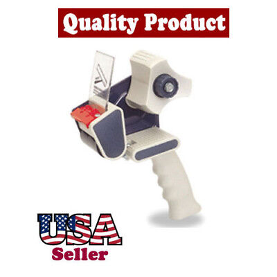 Economical Box Sealing Shipping 2tape Hand Dispenser For Warehouse Working Use