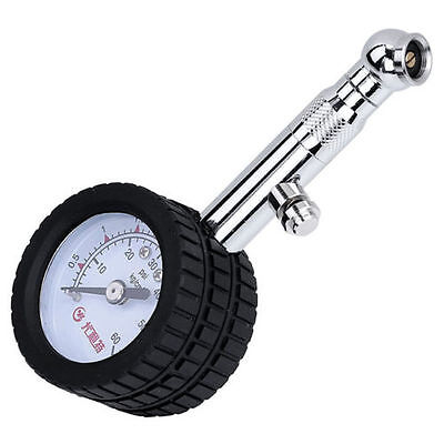 Double Scale Truck Vehicle Car Tire Air Pressure Gauge 0-60 PSI Tester Tool US