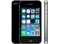 APPLE IPHONE 4S 16GB MINT CONDITION ( UNLOCKED ) WARRANTY AND SHOP RECEIPT