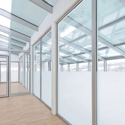 White Frost Privacy Frosted Window Film Matte Opal Etch Tinting Tint Glass Vinyl Ebay