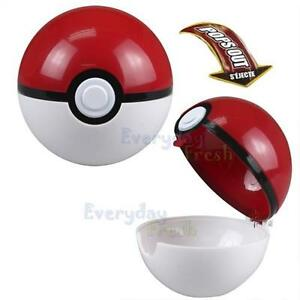 POKEMON Pokeball Pop-up Plastic BALL Game Toy + Free Gift Pikachu