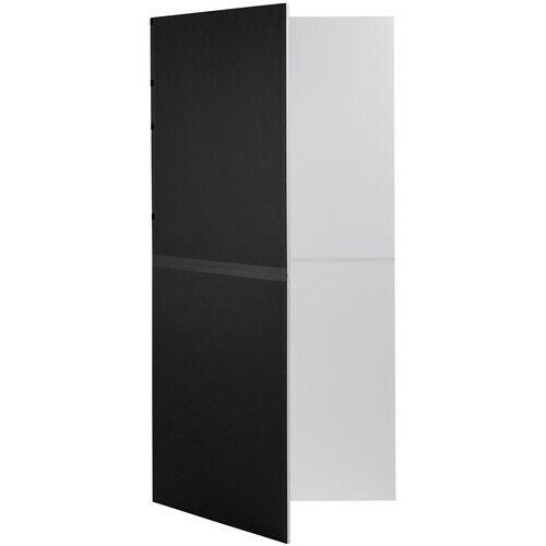 V-FLAT WORLD Foldable V-Flat Bounce Board, Black/White #001