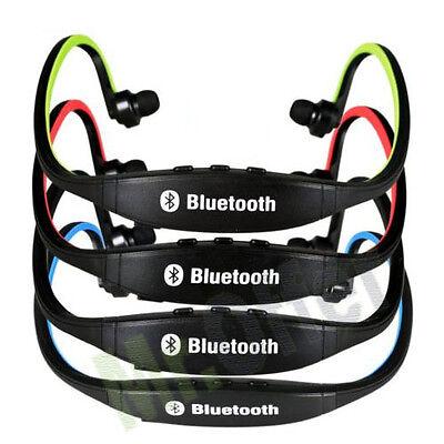 Auricolari bluetooth cuffie sport senza fili per telefoni cellulari cuffia