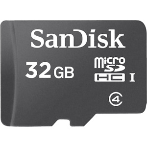 32GB Micro SD Card -- for your phone, laptop, or PC