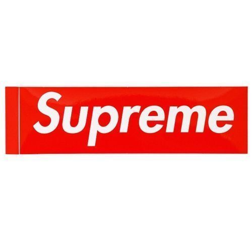 Supreme Sade Photo Sticker 100/% AUTHENTIC SUPREME STICKER BOX LOGO