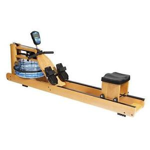 rowing machine water resistance setting