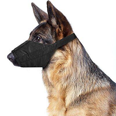 Dog Muzzle Training Muzzle - Non-Chafing Breathable & Padded Nylon Safety/Training Muzzle for Dogs