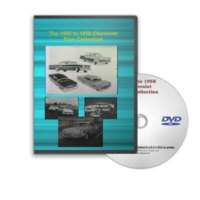 1955 to 1958 Chevrolet Chevy Sales Training Films on DVD C201