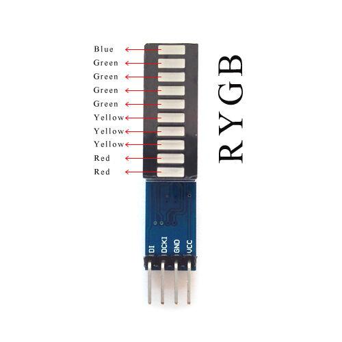 LED Module 10 Segment Strip Digital Tube Light Emitting Module For Arduino