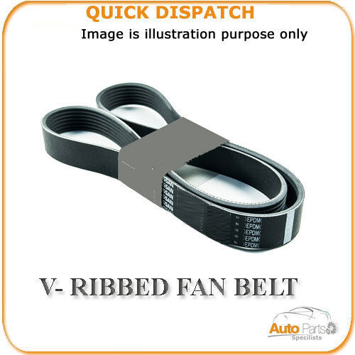3PK0813 V-RIBBED FAN BELT FOR SUZUKI SWIFT 1 1989-2001