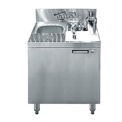 Krowne Metal Kr18-ms24 24 Royal1800 Series Underbar Mixology Sink Unit