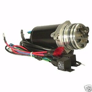 Tilt Power Trim Motor Pump Mercury 100 115 135 150 MARINER MARINE 1985-1992 New