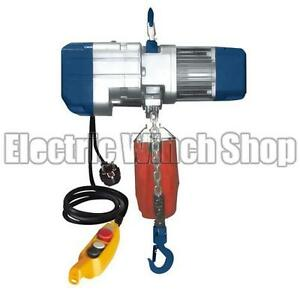 Warrior 1000KG 240V Electric Chain Hoist