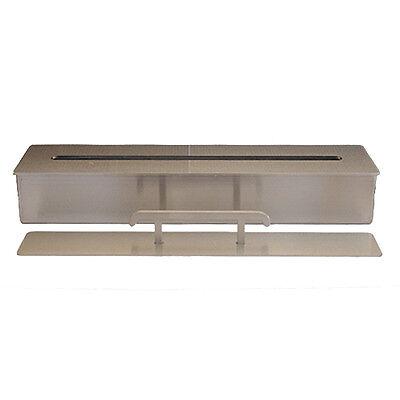 Bio Ethanol Burner Firebox Stainless Steel Fireplace Table Decoration 2l / 40 cm