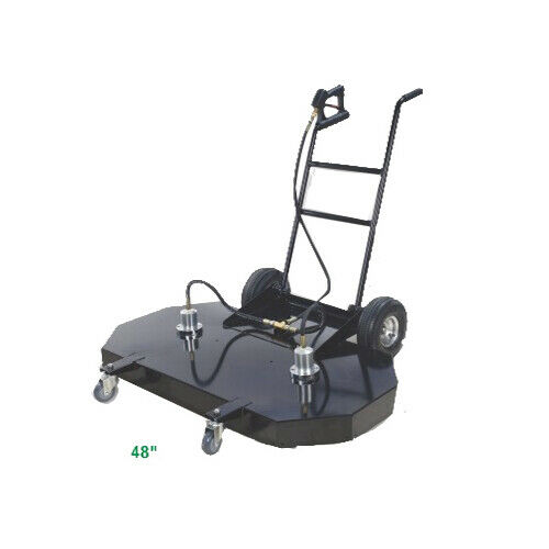 48″ Dual Head Surface Cleaner 4000 PSI Max 8-12 GPM