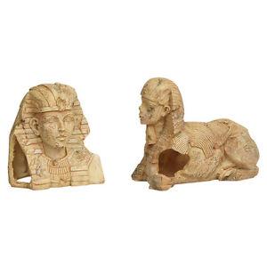 KARLIE-FLAMINGO-Decoracion-de-acuario-altagyptischer-Faraon-NUEVO