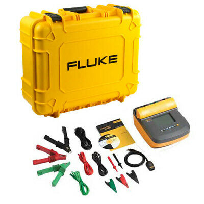 Fluke 1550c-kit 5 Kv Insulation Resistance Tester Kit W Pc Interface