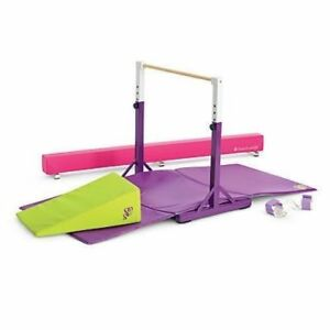 *NEW* American Girl Balance Beam And Bar Gymnastics Set for DOLLS/Mckenna~NIB!