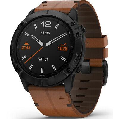 Garmin fenix 6X Sapphire Multisport GPS Smartwatch (Black DLC) 010-02157-13