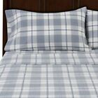 Flannel Plaid Fitted Sheets