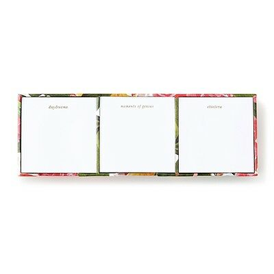 New - Kate Spade - Sticky Note Set - Floral - Brighten Your Office