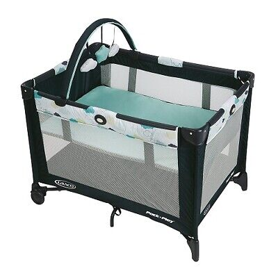 NEW Graco Pack 'n Play On The Go Playard, Stratus Collection