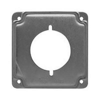 Raco 810c Square Steel Electrical Box Cover 4 6.5 Cu. In.