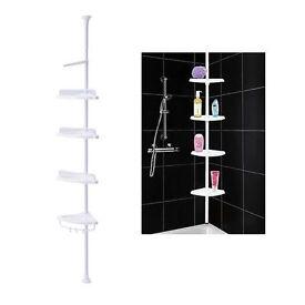 Bathroom corner wall shelf unit IKEA KAGLAN