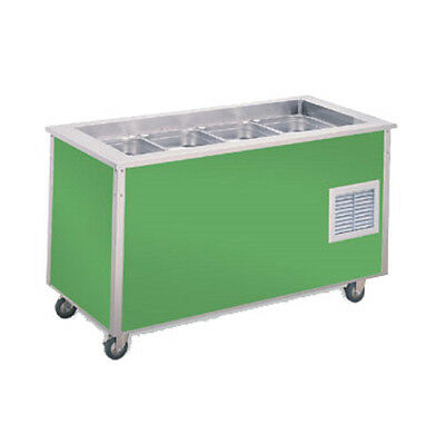Vollrath 36176 74 Signature Server Cold Food Station W Stainless Steel Counter
