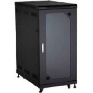 Black Box Select Plus Cabinet with Plexi Front Door, 24U - 24U Rack Height x 21.30 Rack Width x 38.50 Rack Depth - Plexi