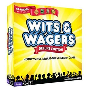 BOARD GAME - Wits & Wager Deluxe! (SEALED)