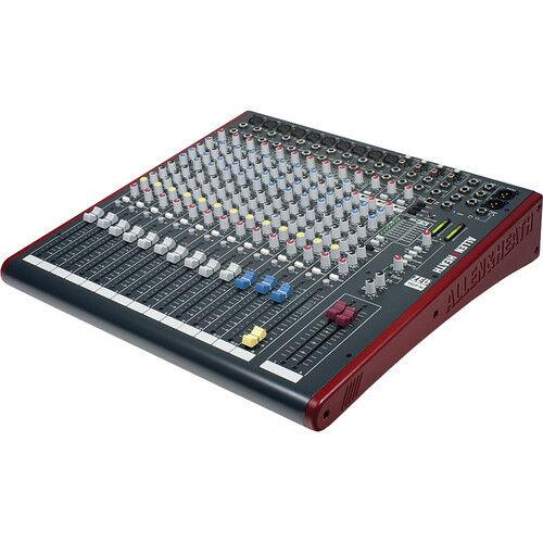Allen & Heath ZED-16FX 16-Channel Recording and Live Sound M