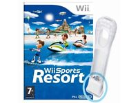 NINTENDO WII SPORTS RESORT COMPLETE WITH MOTION PLUS ADAPTER