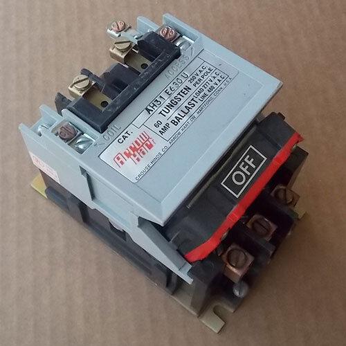 Arrow Hart Controls AH31 E630U Magnetic Contactor 60A 3 Pole 480V Coil Used