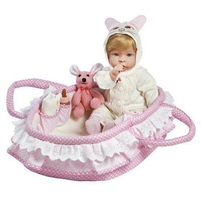 Realistic Handmade Reborn Baby Doll Girl Newborn Lifelike Soft Vinyl - Molly