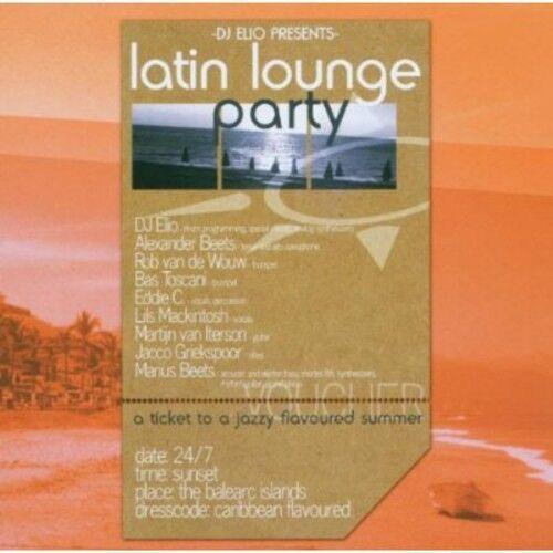 DJ Elio - Latin Lounge Party [New CD]