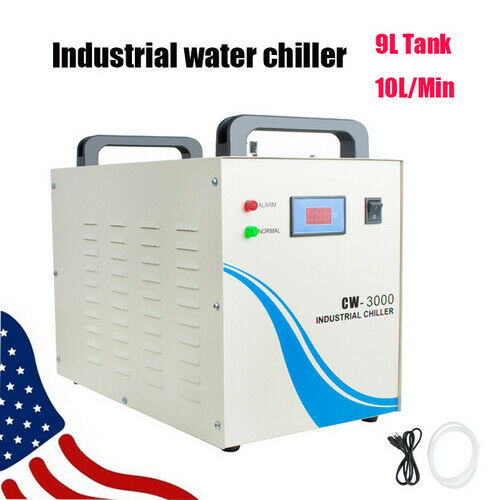 CW-3000 Industrial Water Chiller for CNC/ Laser Engraver Engraving Machine USA