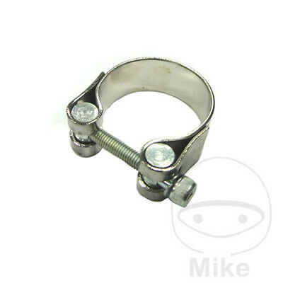 MOTORCYCLE CLAMP CHROME JMP 43MM