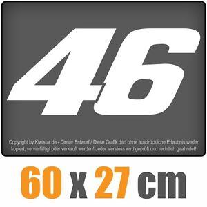 46-PEGATINA-chf0422-Blanco-60-x-27cm-Pegatina-trasera-chf