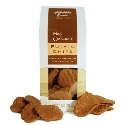 Philadelphia Candies Kettle Cooked Potato Chips, Milk Chocolate Covered 9 - Chocolate Potatoes