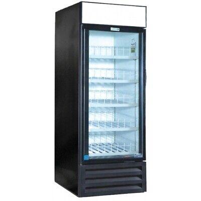 30 Heavy Duty Glass Door Drink Display Cooler Refrigerator Vr-26hc New 9735