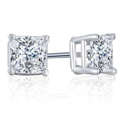 1 Carat Diamond Stud Earrings | eBay