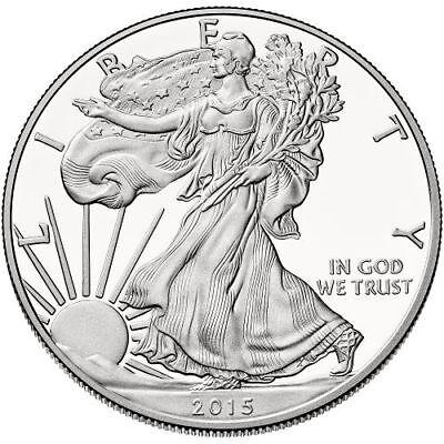 1 oz Proof American Silver Eagle Coin (Varied Year, Box + CoA)