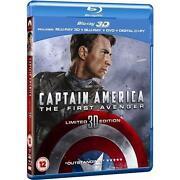 Captain America 3D Blu Ray