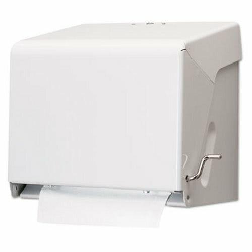 Crank Hardwound Roll Paper Towel Dispenser, White (SJMT800WH)