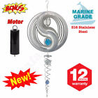 Stainless Steel Garden Wind Spinners Spinners