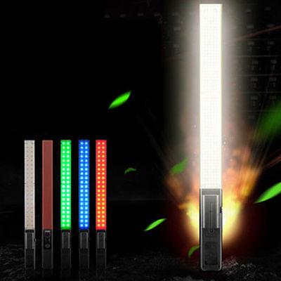 Yongnuo YN360 LED Video light 3200-5500K RGB SMD Colorful Handheld Wand Stick US